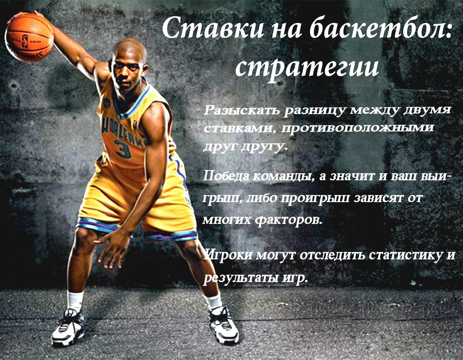 Ставки на баскетбол: стратегии