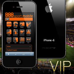 мобильная версия 888 Sport