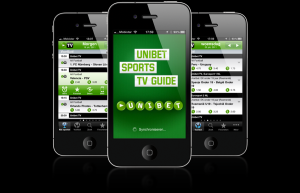 Мобильное приложение Unibet доступно для Android, Iphone, Windows Phone