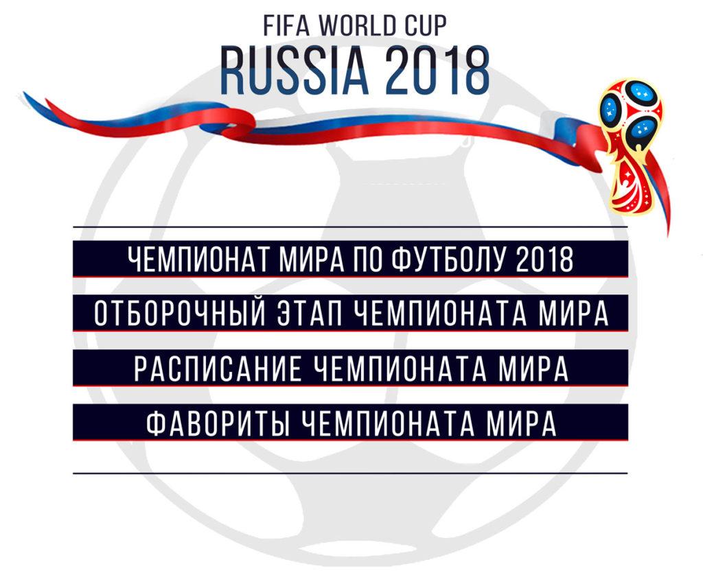 Отборочный этап чемпионата мира по футболу 2018 года, расписание, фавориты